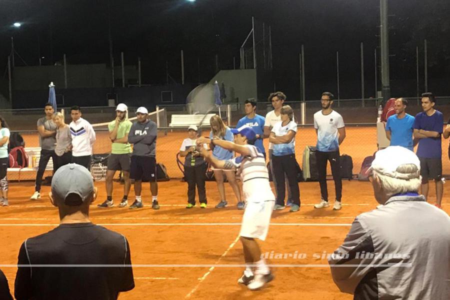 Capacitación de Tenis en el Club Sirio Libanés de BA