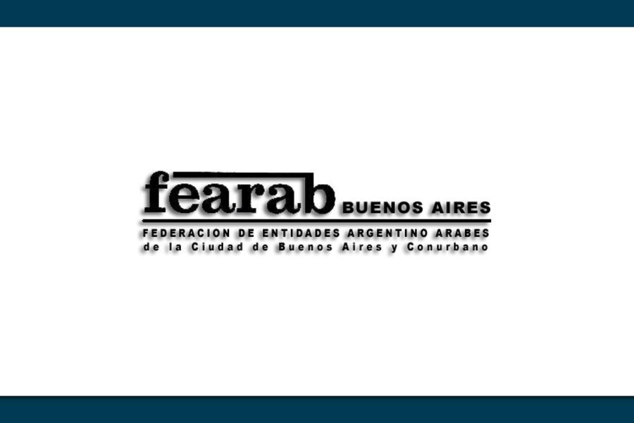 Resultado de imagen para imagen de FEARAB BUENOS AIRES Y CONURBANO
