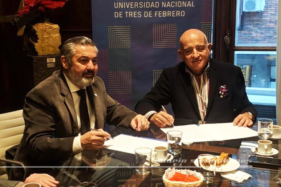 El Club Sirio Libanés y UNTREF firmaron acuerdo de cooperación