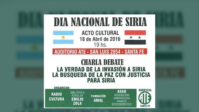 Resultado de imagem para Dia Nacional da Síria